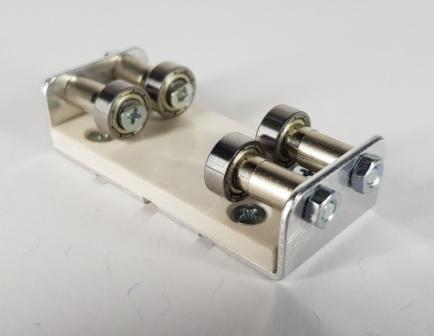 Rollenböcke direkt für die Schiene in der Spur 0m/2i/S