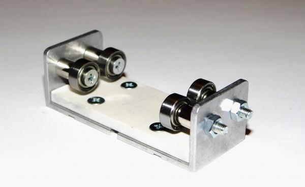 Zusatzrollenbock für Rollenprüfstand Spur 0 Gleichstrom (DC/DCC)