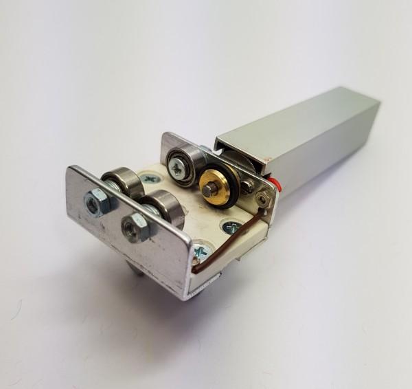 Motorrollenbock für Rollenprüfstand Spur H0 Gleichstrom digital/analog (450mm) (DC)