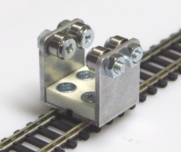 Gleisrollenbock Spur N/H0e Gleichstrom (DC/DCC)