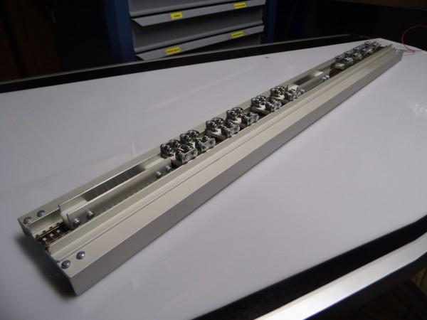 Rollenprüfstand Spur TT und Spur N /H0e 750mm lang