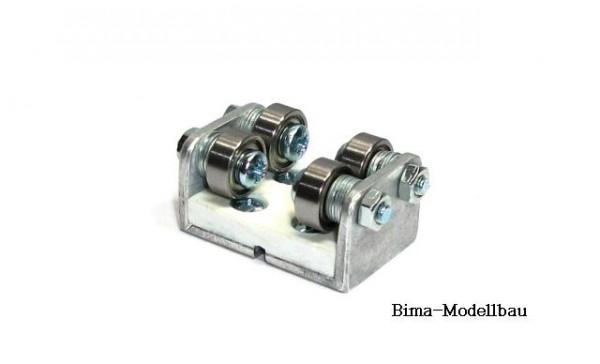 Zusatzrollenbock für Rollenprüfstand Spur TT/H0m Gleichstrom (DC/DCC)