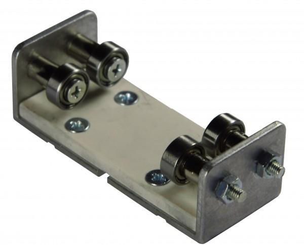 4-er Set Schienenrollenbock Spur 0 Gleichstrom (DC/DCC)